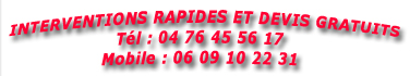 interventions rapides